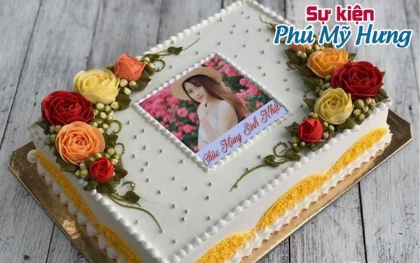 Bánh sinh nhật in hình trang trí đẹp