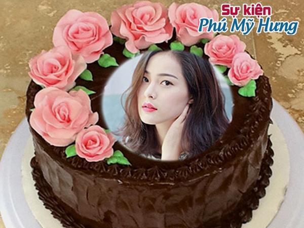 Bánh sinh nhật in hình Chocolate