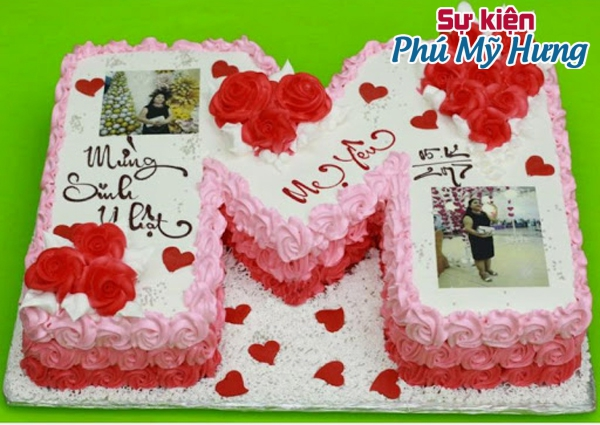 Mẫu bánh sinh nhật in hình độc đáo